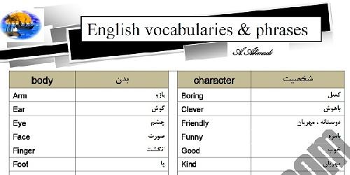 کمترین لغات انگلیسی که همه باید بدانند !! (آموزش لغات انگلیسی)