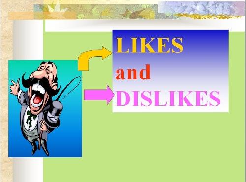 گرامر زبان انگلیسی بخش دوست داشتن و.. (Like And Dislike)