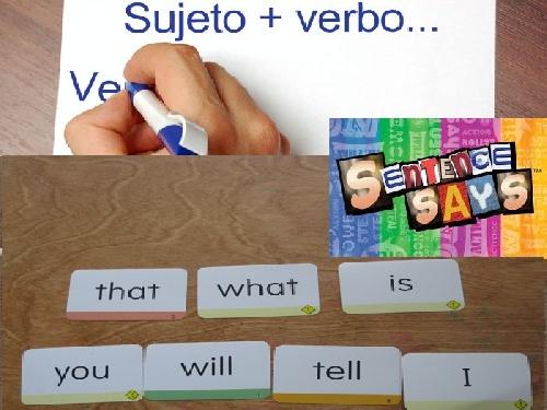 گرامر زبان انگلیسی بخش جمله، تمرین(Sentence practice)