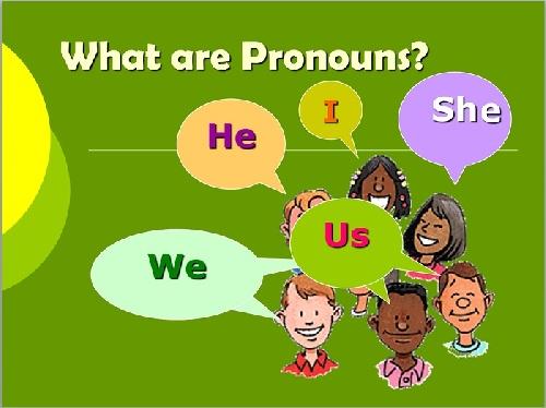 گرامر زبان انگلیسی بخش ضمیرها (Pronouns)